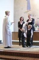 Nils was baptised ...